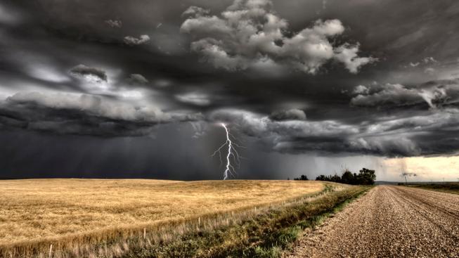 Silné bouřky