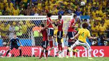 Bitvu gigantů vystříleli obránci. V semifinále MS se utkají Brazílie a Německo
