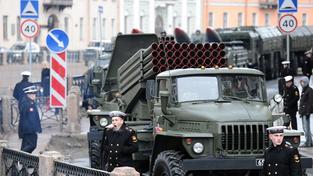 Ruský raketomet Grad