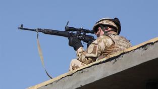 Český voják v Afghanistánu