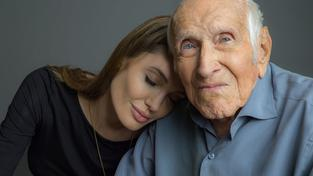 Louis Zamperini a Angelina Jolie
