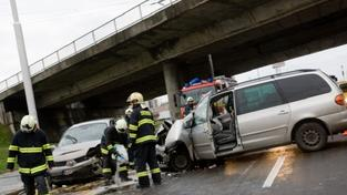 Autonehoda (ilustrační foto)