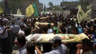 Ostřelování, pásmo Gazy