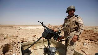 Voják irácké armády (Ilustrační snímek)