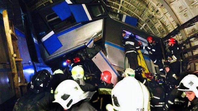 Nehoda v moskevském metru