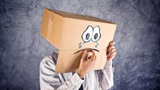 Smutný muž (ilustrační foto)