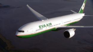 Boeing 777 společnosti EVA AIR