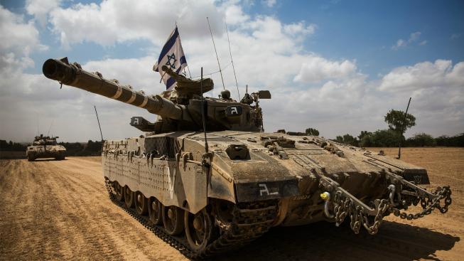 Izraelská armáda v pásmu Gazy