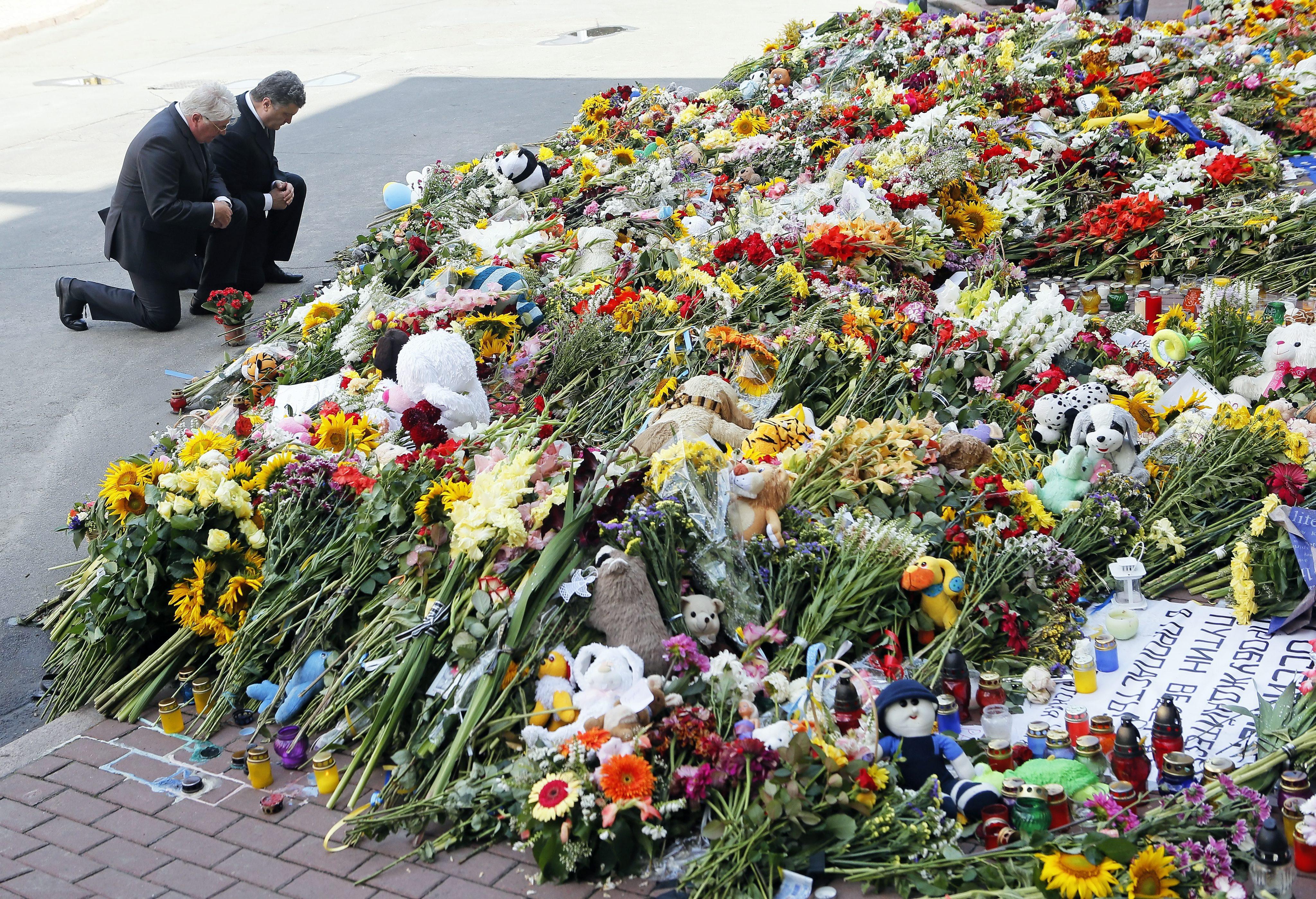 Komentář: Ukrajina, po sestřelu: Tři poznámky k tragické události