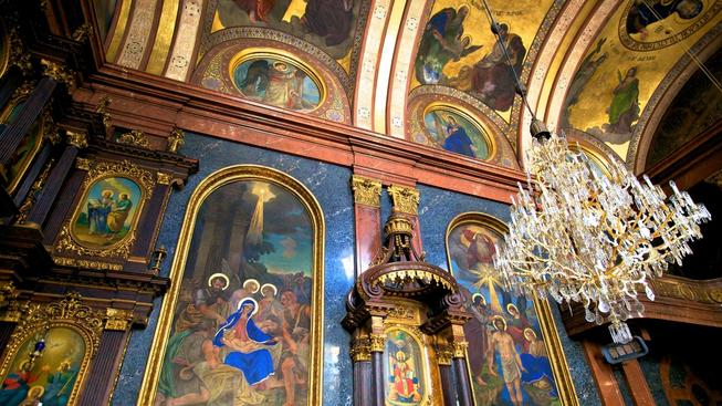 Pravoslavné ikony (ilustrační foto)