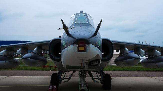 Bojový letoun Su-25