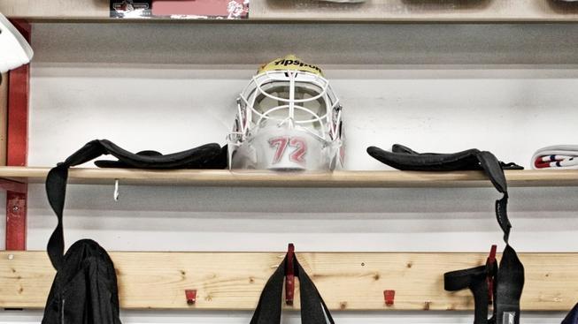 Hokejová helma (ilustrační foto)
