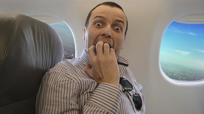 Strach z létání je velmi rozšířenou fobií. Ilustrační snímek