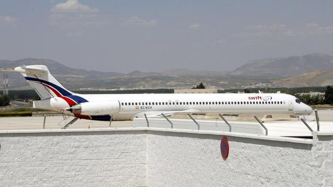 Letadlo společnosti Swiftair
