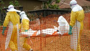 Boj s ebolou