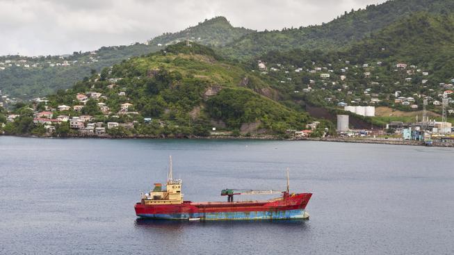 Starší nákladní loď (ilustrační foto)