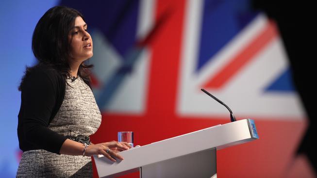 Náměstkyně šéfa britské diplomacie Sayeeda Warsiová