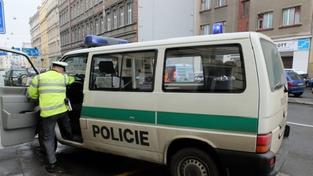 Policejní vůz (ilustrační foto)