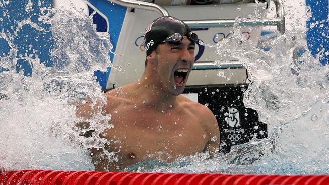 Michael Phelps, ilustrační snímek