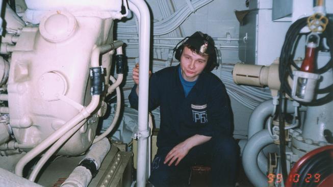 Námořník v ponorce Kursk