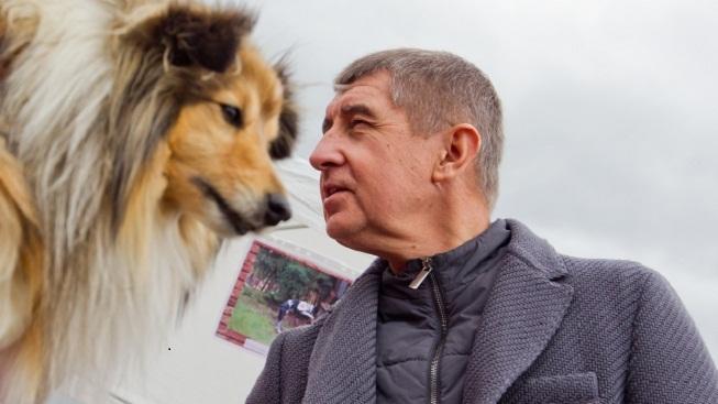 Andrej Babiš s kólií