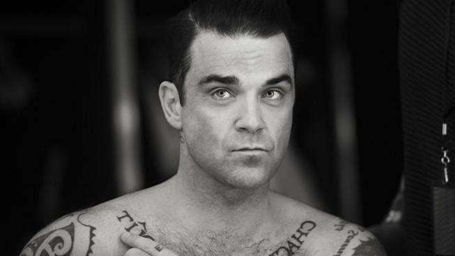 Zpěvák Robbie Williams