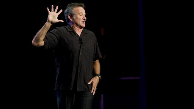 Americký herec Robin Williams