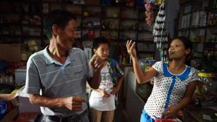 Vietnamská rodina, ilustrační foto