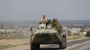Ruské obrněné vozidlo (ilustrační foto)