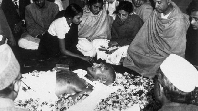 Mahátmá Gándhí, pohřeb