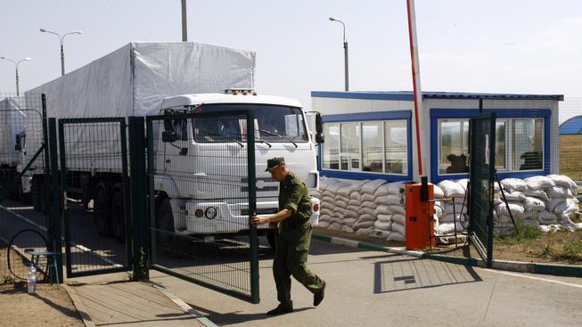 Ruský humanitární konvoj