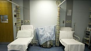 Nemocniční lůžka (ilustrační foto)