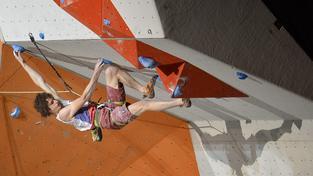 Sportovní lezec Adam Ondra