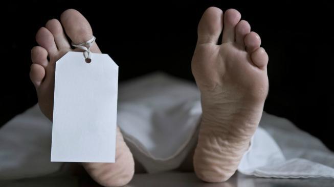 Tělo v márnici