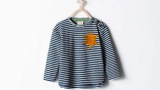 Kontroverzní dětské triko značky Zara.