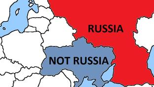 Mapka kterou pro Rusko vytvořila Kanada