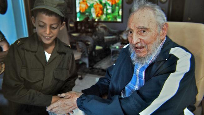 Vůdce kubánské revoluce Fidel Castro