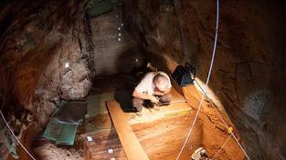 Jeskyně Gorham, Gibraltar