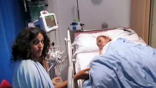Vážně nemocný Ashya King s matkou