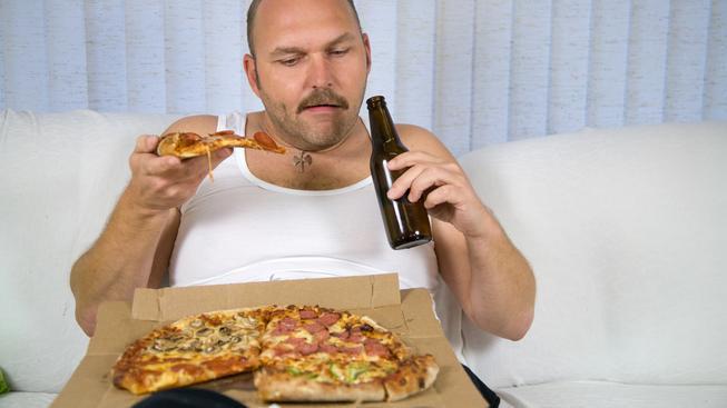 obezita, přejídání