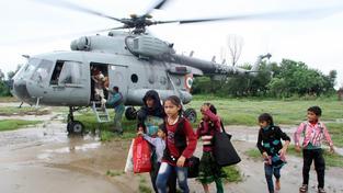 Záchranná akce v Indii