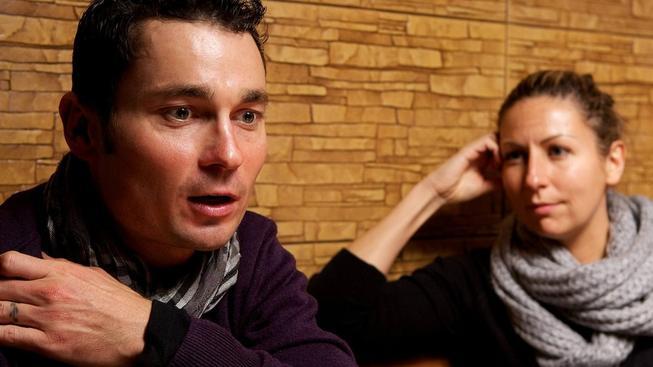 Cyklista Jiří Ježek s manželkou Soňou (Ilustrační snímek)