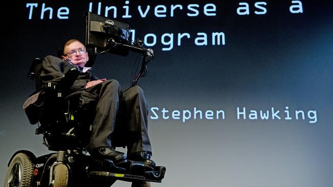 Britský fyzik Stephen Hawking