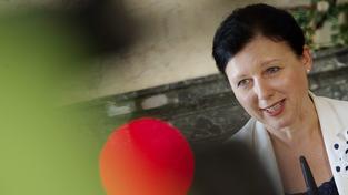 Nová eurokomisařka pro spravedlnost Věra Jourová