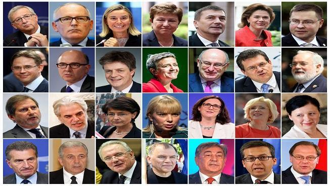 noví eurokomisaři