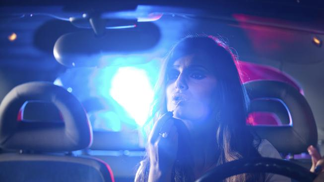 Žena v autě (ilustrační foto)