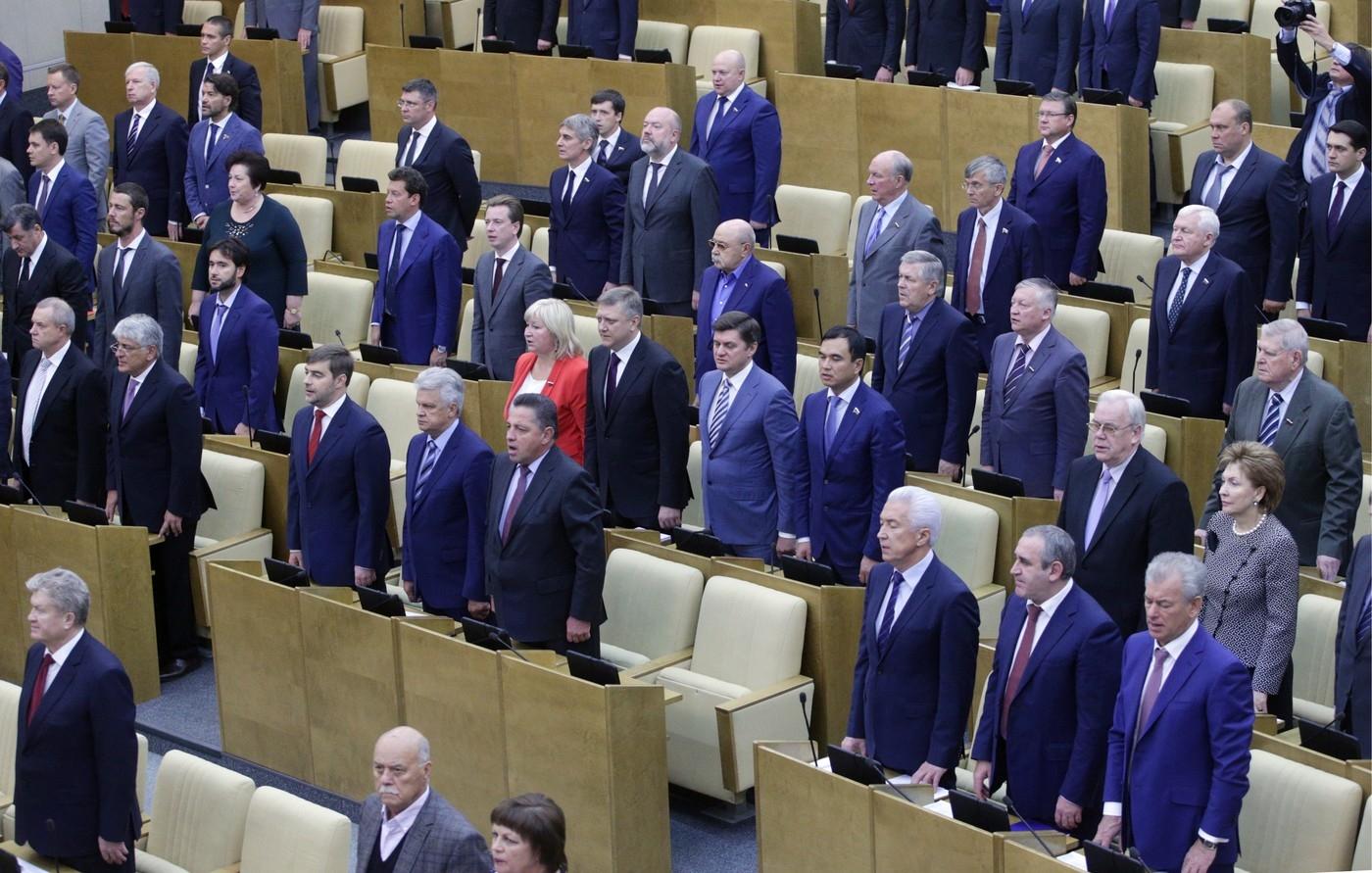 Ruským poslancům je do zpěvu. Budou mít vlastní sbor