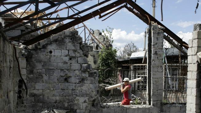 Výbuch v Doněcku