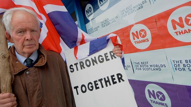 Kampaň proti samostatnosti Skotska se zaměřila na zastrašování