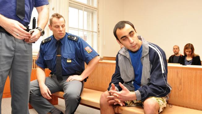 Tomáš Badi u soudu